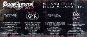 Gods of Metal 2012