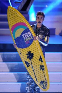 Justin Bieber premiato ai Teen Choice Awards | © Kevin Winter/Getty Images