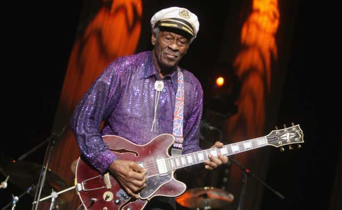 """Chuck Berry: """"Roll Over Beethoven"""" nella Rock'n'Roll of Fame"""