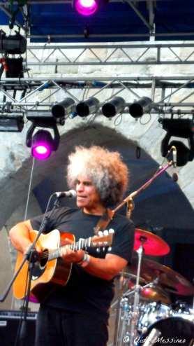 Paul Ubana Jones al Pistoia Blues Festival | © MelodicaMente