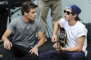 Niall Horan e Liam Payne degli One Direction