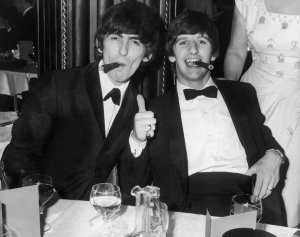 George Harrison - Ringo Starr - Beatles