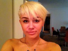 Miley si mostra soddisfatta del nuovo taglio