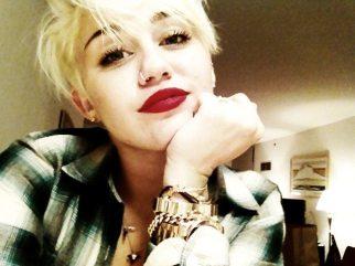 Miley sorride al suo fandom