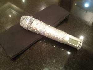 Microfono di Victoria Beckham