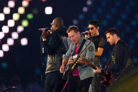 Coldplay alla cerimonia delle Paralimpiadi