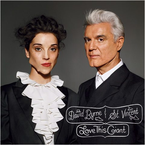 "David Byrne & St.Vincent: ascolta in streaming l'album ""Love This Giant"""