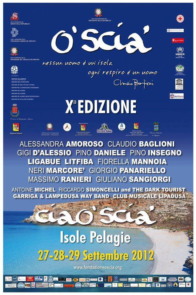 Claudio Baglioni, al via la decima edizione di O'Scià