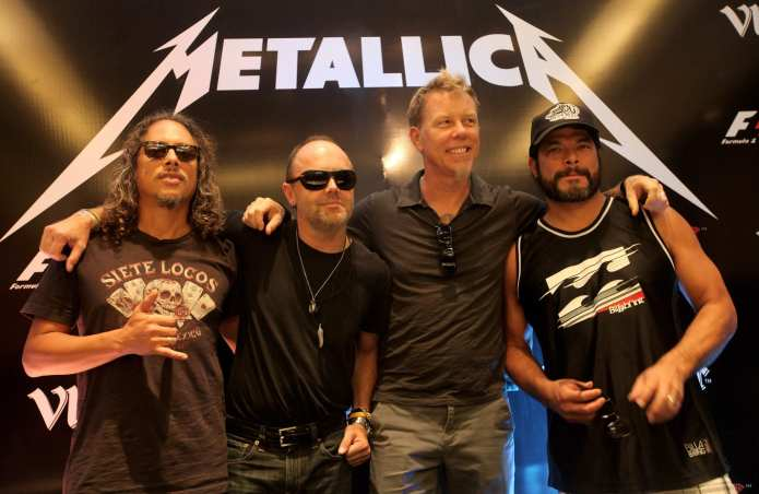 Metallica, a Roma special guest Alice in Chains, Volbeat e Kvekertak