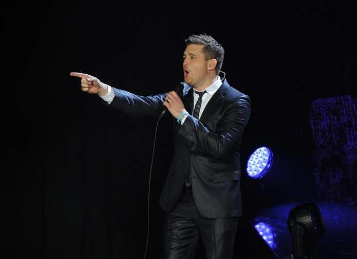 Michael Bublé a Che tempo che fa presenta il Natale a ritmo di swing
