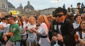 """La danza del """"Gangnam Style"""""""