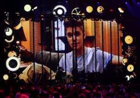 Justin Bieber ringrazia i fan con unvideo | © DANIEL ROLAND/AFP/Getty Images