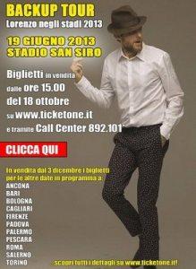 Jovanotti Tour 2013