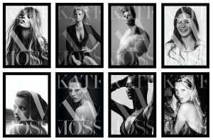 """Le otto copertine di """"Kate: The Kate Moss Book"""""""