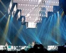 La scenografia dei Muse - The 2nd Law Tour