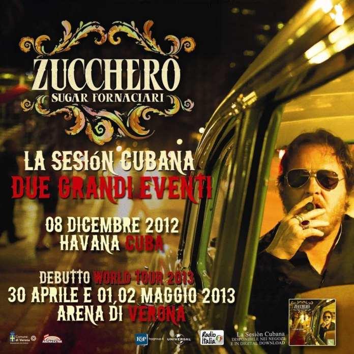 Zucchero World Tour 2013, annunciate le prime date in Italia