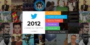 L'anno su Twitter 2012