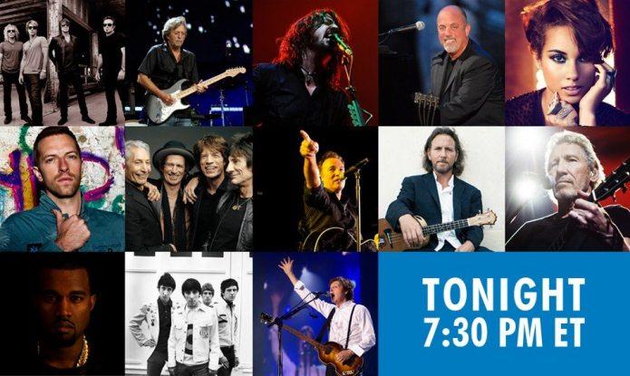 """""""12-12-12"""", il concerto al Madison Square Garden. Reportage"""