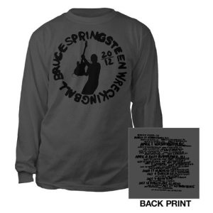 2012 Wrecking Ball Tour Long Sleeve Tee | Sito Ufficiale Bruce Springsteen