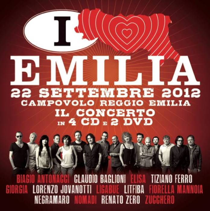 La compilation di Italia Loves Emilia è la più venduta in Italia