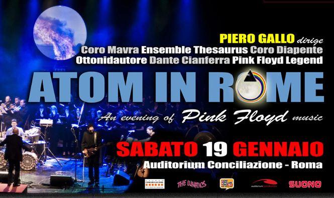Atom in Rome, in concerto la magia della musica targata Pink Floyd