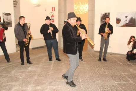 Pino Ciccarelli & his brass band - Ph. © Daniele Luongo