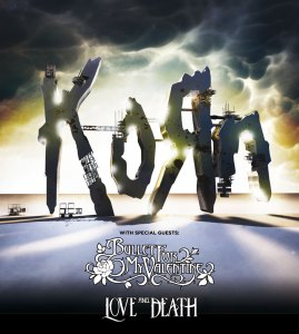 Korn- Locandina concerti