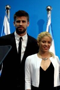 Shakira e Piqué   © GALI TIBBON/AFP/GettyImages