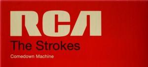 """The Strokes """"Comedown Machine """" - artwork"""