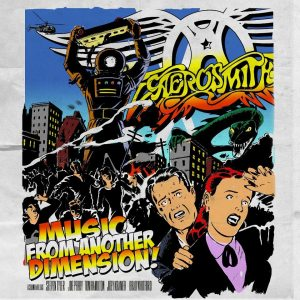 """Aerosmith - """"Music from another dimensione"""" - Artwork"""