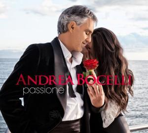 """Andrea Bocelli - """"Passione"""" - Artwork"""