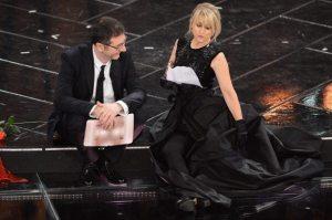 Festival di Sanremo 2013 - Fazio e Littizzetto   ©    Daniele Venturelli/Getty Images