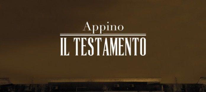 """Appino: """"Il Testamento"""". La recensione"""