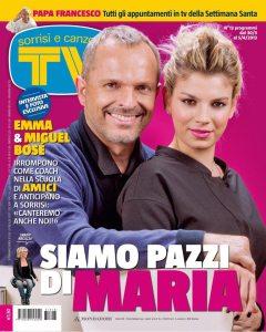Emma Marrone & Miguel Bosé | Pagina Facebook Emma