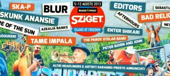 Nuovi nomi al Sziget Festival 2013, dai Biffy Clyro a Mika
