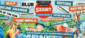 Sziget 2013 | Pagina Facebook