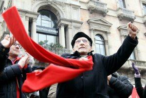 Don Andrea Gallo   ©  Vittorio Zunino/Getty Images News