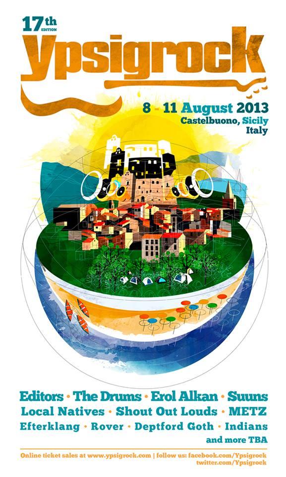 Ypsigrock Festival, dettagli su line up e biglietti