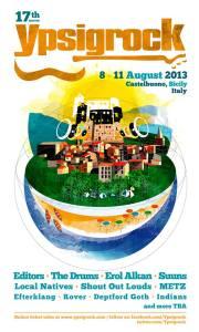 Ypsigrock Festival 2013 | © Pagina Facebook