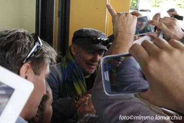 Vasco incontra i fan   © Mimmo Lamacchia