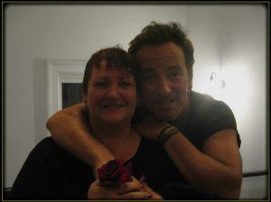 Bruce Springsteen e Gina Giambone| © Gina Gimbone