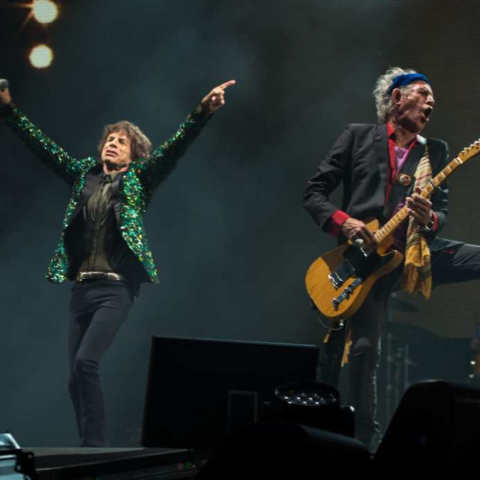 I Rolling Stones headliner al Glastonbury Festival 2013   © Ian Gavan/Getty Images