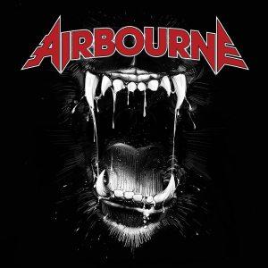"""Airbourne - """"Black dog barking"""" - Artwork"""