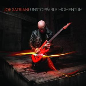 "Joe Satriani - ""Unstoppable momentum"" - Artwork"