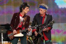 Ron Wood e Keith -Richards Rolling Stones - Hyde Park   © Simone Joyner/Getty Images