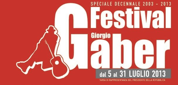 Festival Giorgio Gaber: musica ed eventi a dieci anni dalla morte