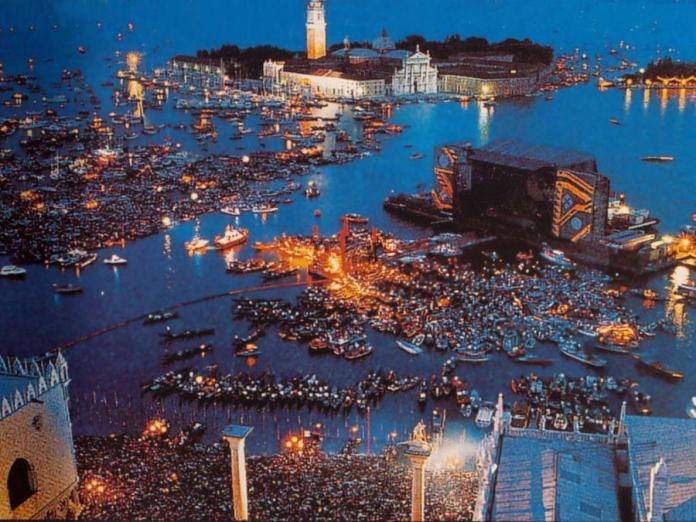Pink Floyd, 24 anni dal concerto di Venezia 1989