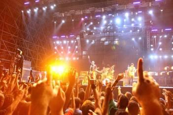 Smashing Pumpkins ed il pubblico - Rock In Roma