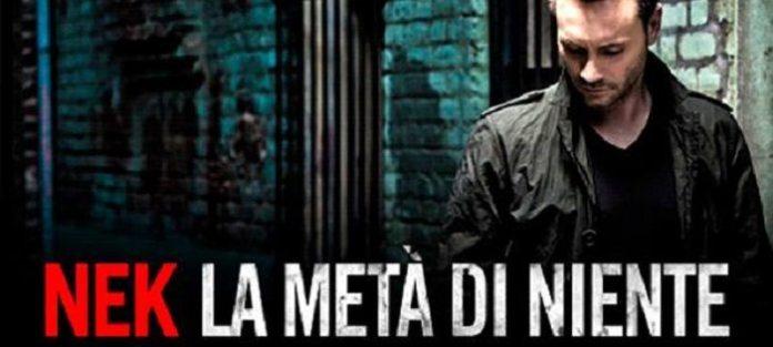 """Nek nuovo singolo, arriva in radio """"La metà di niente"""""""