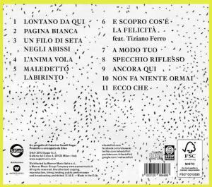 """La tracklist dell'album """"L'Anima Vola"""""""